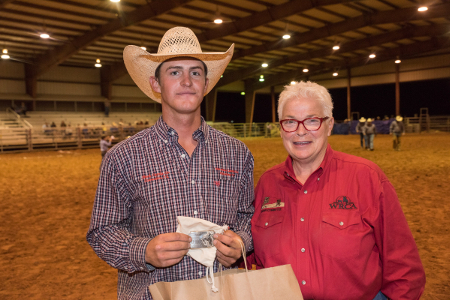Big Bend Ranch Rodeo 2018 Top Hand: Cutter McClain from the Detwiler Cattle/Heck Cattle team